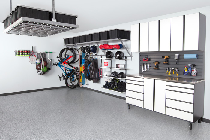 Coordinated Garage Design Gilbert
